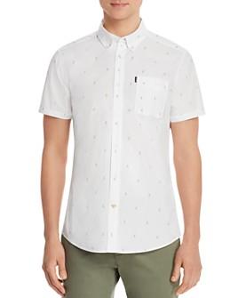 Barbour - Parrot-Print Short-Sleeve Classic Fit Shirt