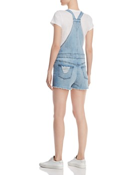 DL1961 - Abigail Denim Maternity Overalls in Crowley
