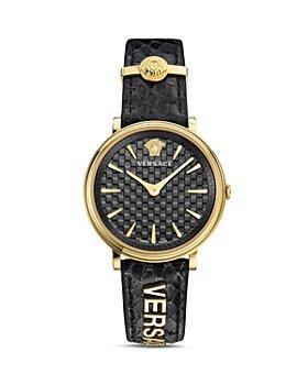 Versace - V-Circle Circle Logomania Edition Watch, 38mm