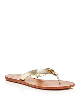 Tory Burch - Women's Manon Leather Thong Sandals