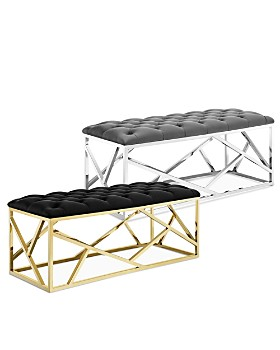 Modway - Intersperse Bench & Ottoman Collection