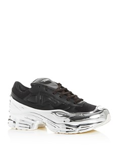 Raf Simons for Adidas - Men's RS Ozweego Leather Low-Top Sneakers