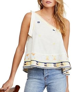 Free People Tops BALI BABY EMBROIDERED TOP
