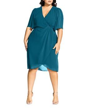 2d2ae5abbc City Chic Plus - Twist Love Dress ...