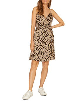 Sanctuary - Leopard Wrap-Front Dress