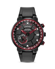 Citizen - Satellite Wave World Time Black GPS Watch, 44mm