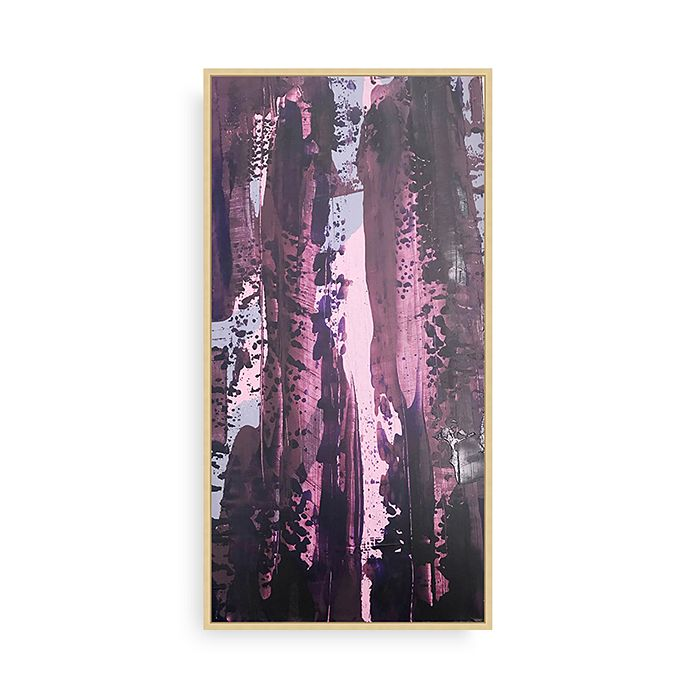 Bloomingdale's Artisan Collection - Purple Poured Panel I Wall Art