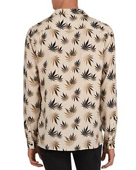 The Kooples - Dark Leaves Regular Fit Shirt