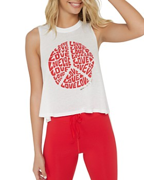 Spiritual Gangster - Love Cropped Muscle Tank