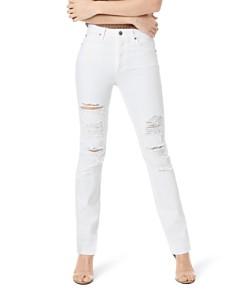 Joe's Jeans - The Milla Destructed Jeans in Mattie