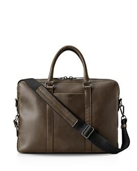 Shinola - Navigator Leather Computer Briefcase