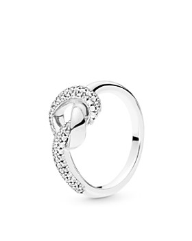 Pandora - Sterling Silver Knotted Heart Ring