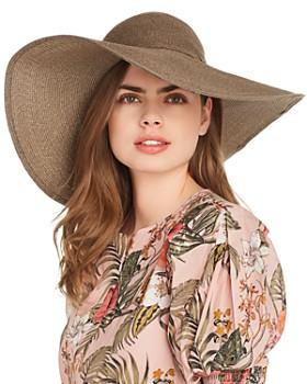 PHYSICIAN ENDORSED - Sophia Floppy Straw Sun Hat