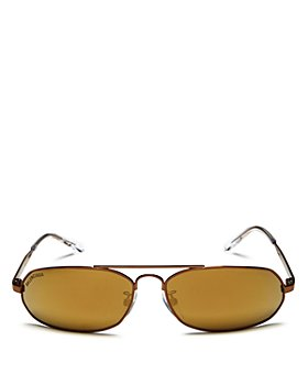 Balenciaga - Women's Brow Bar Rectangular Sunglasses, 61mm