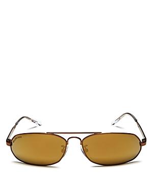 Balenciaga Women\\\'s Brow Bar Rectangular Sunglasses, 61mm-Jewelry & Accessories