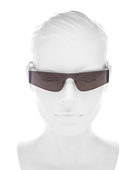 c2a4b9709a69d ... 185mm Balenciaga - Unisex Wraparound Shield Sunglasses, 185mm