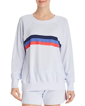 Sundry - Striped Detail Sweatshirt