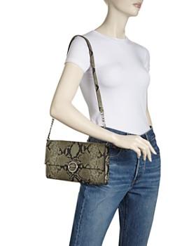 Rebecca Minkoff - Jean Medium Convertible Leather Clutch