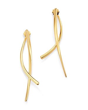 Roberto Coin 18K Yellow Gold Oro Classic Ear Jackets-Jewelry & Accessories