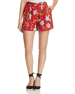 Vince Camuto Wildflower Print Shorts