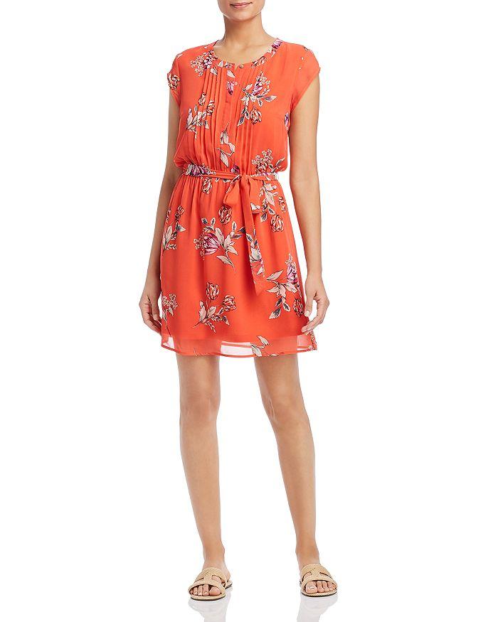 Daniel Rainn - Floral-Print Flutter Dress