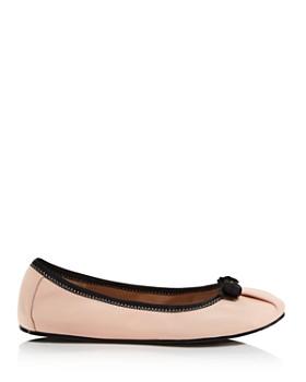 Salvatore Ferragamo - Women's My Joy Leather Ballet Flats