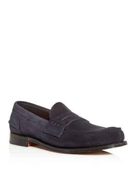 Church's - Men's Pembrey Suede Penny Loafers