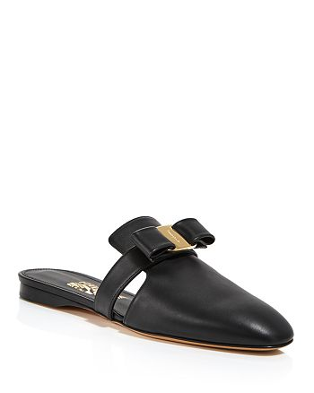 Salvatore Ferragamo - Women's Brizavit Leather Mules