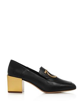 e100226b309e ... Salvatore Ferragamo - Women s Lana Block-Heel Loafers