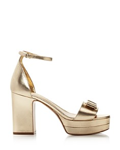 Salvatore Ferragamo - Women's Eclipse Block-Heel Platform Sandals