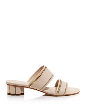 Salvatore Ferragamo - Women's Belluno Leather Sandals