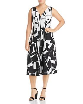 a1ccfdd2b Marina Rinaldi - Dalia Convertible Printed Dress ...