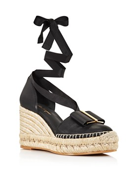 Salvatore Ferragamo - Women's Geraniolos Espadrille Tie-Up Sandals