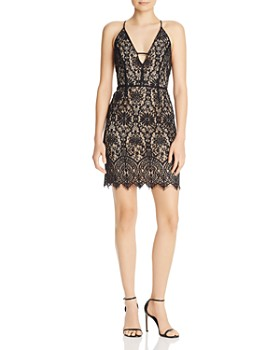 WAYF - Reannah Lace Mini Dress