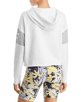 Calvin Klein - Raw-Edge Logo Hooded Sweatshirt