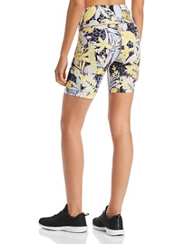 Calvin Klein - Palm Print Bike Shorts