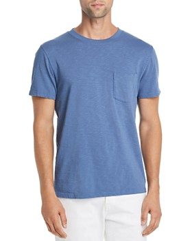 7 For All Mankind - Boxer Slub-Knit Pocket Tee