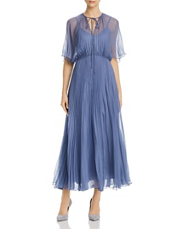 Jill Jill Stuart - Pleated Chiffon Dress