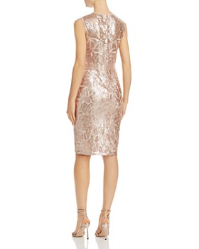 Tadashi Shoji - Sequined Stained-Glass Dress