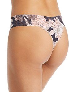 Hanky Panky - Original-Rise Printed Lace Thong - 100% Exclusive