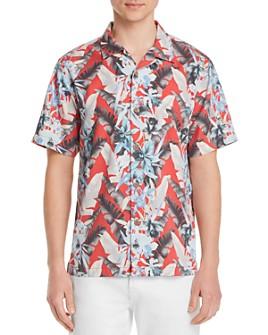 Tommy Bahama - Da Vinci Vines Short-Sleeve Frond-Print Classic Fit Camp Shirt