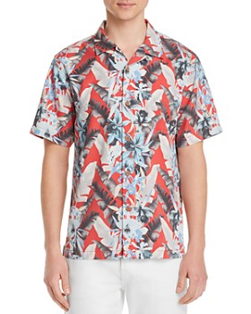 Tommy Bahama - Da Vinci Vines Short-Sleeve Frond-Print Classic Fit Camp Shirt