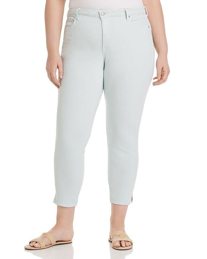 NYDJ Plus - Ami Skinny Slit Ankle Jeans in Desert Dew