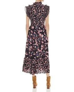 Sandro - Bouna Sleeveless Floral-Print Midi Dress