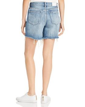 Pistola - Devin Mom Cutoff Denim Shorts in Open Blue