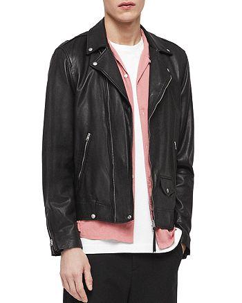 ALLSAINTS - Ace Leather Biker Jacket