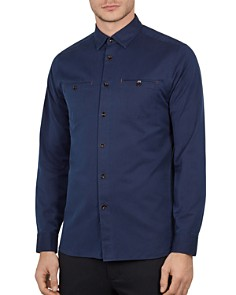 Ted Baker - Denray Denim Slim Fit Shirt