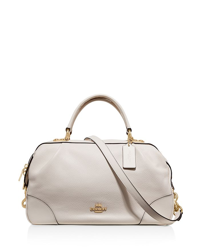 eff57a9aef COACH Lane Medium Polished Pebble Leather Satchel | Bloomingdale's