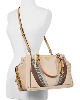 COACH - Dreamer Large Wave Patchwork Leather Carryall