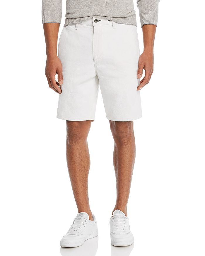 rag & bone - Regular Fit Linen Chino Shorts